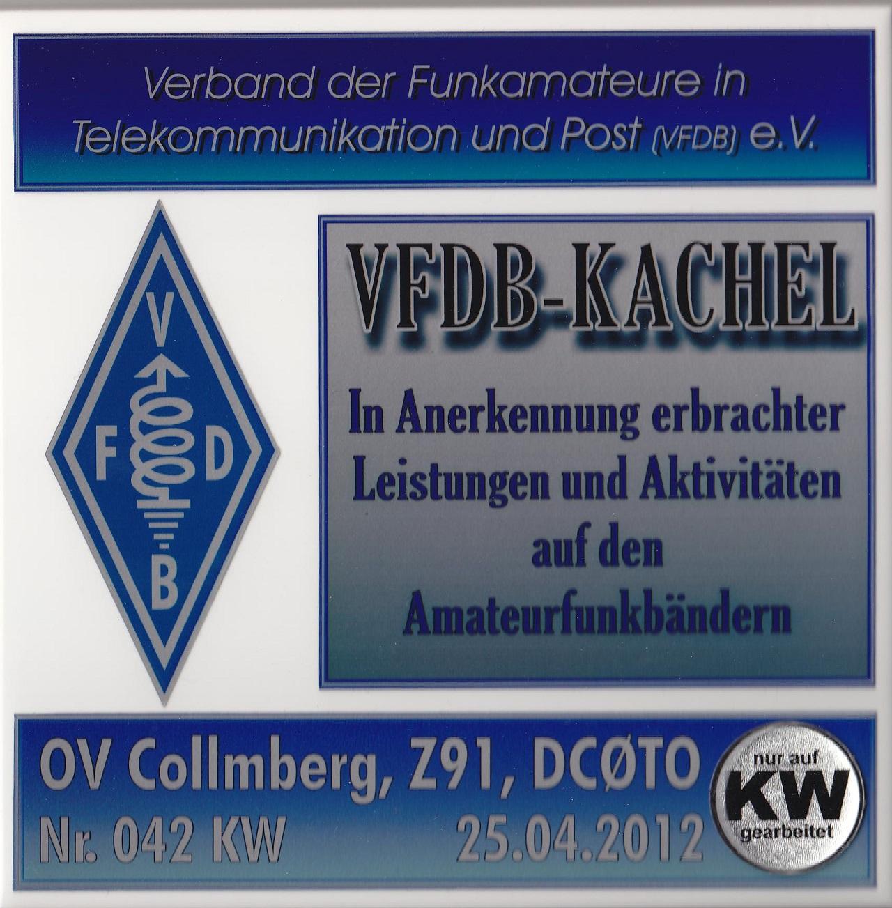 VFDB- Kachel