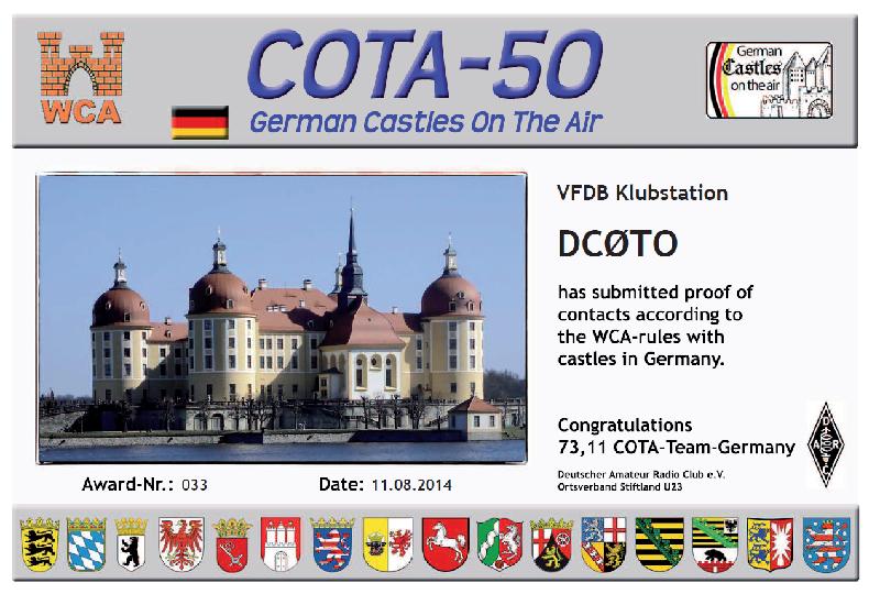 Cota Diplom 50
