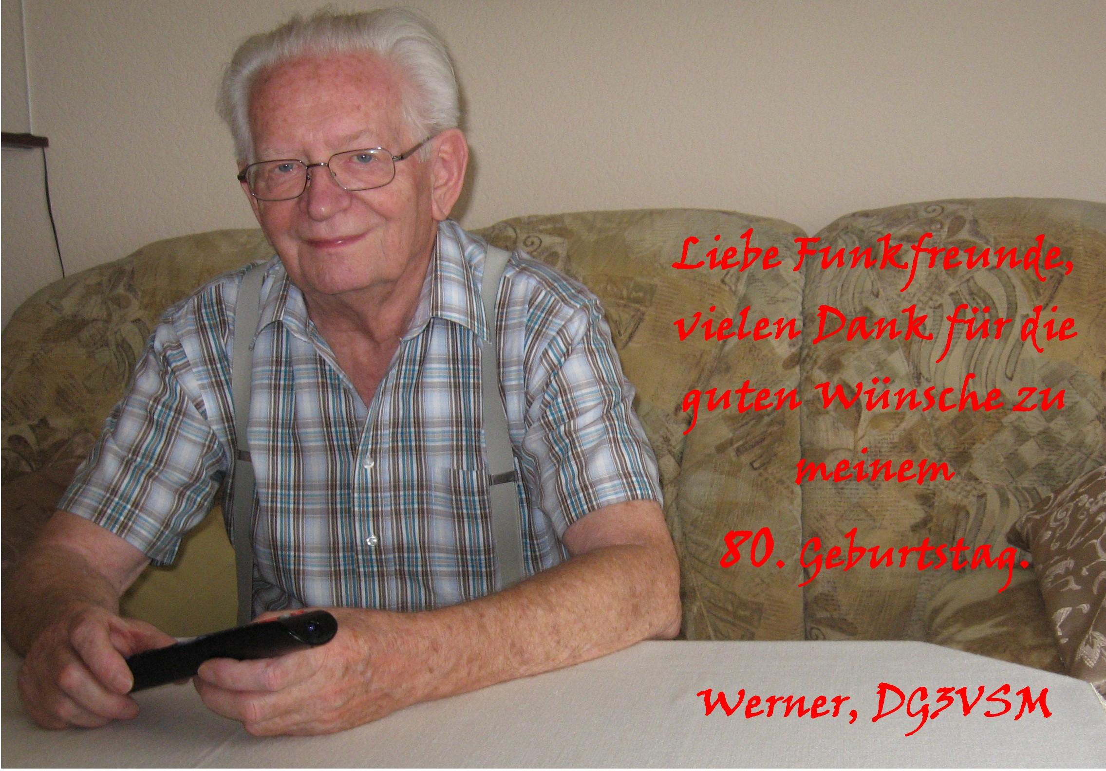 Werner DG3VSM 8o.