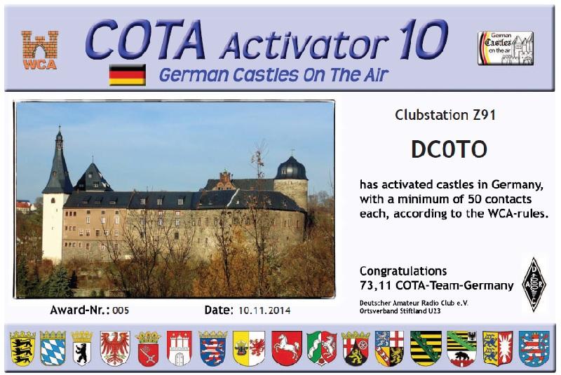 DC0TO cota activator10