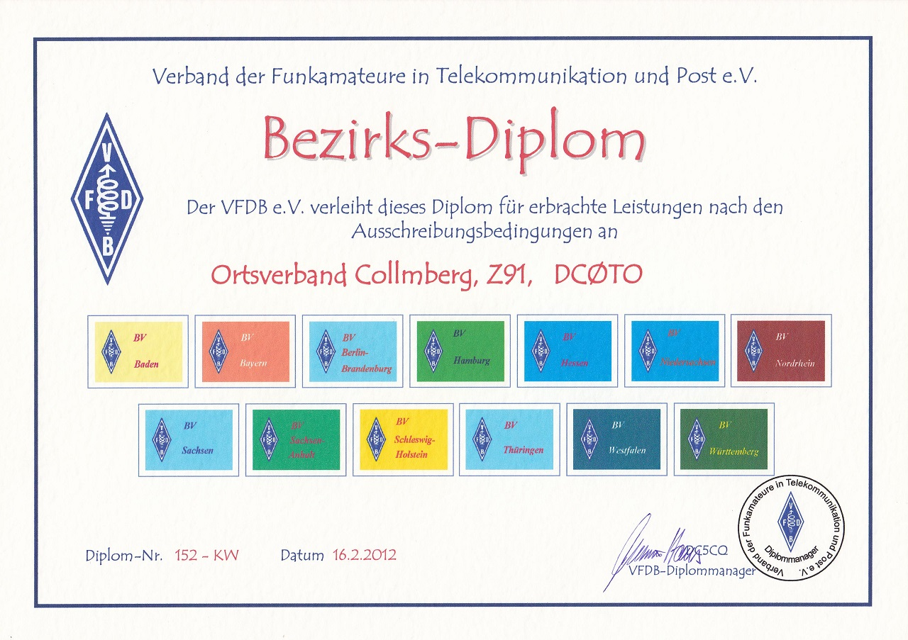VFDB- Bez. dipl.