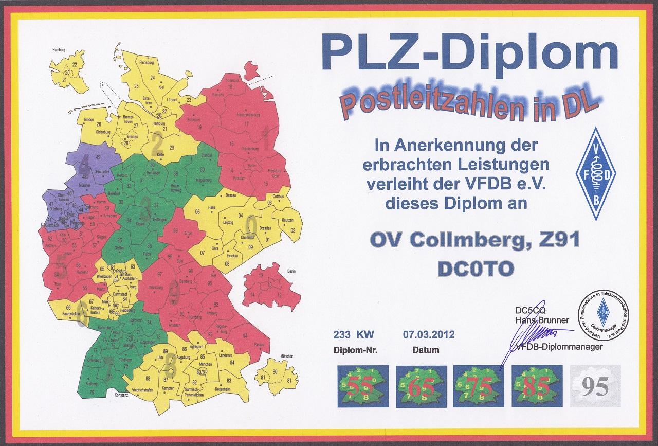 VFDB- PLZ Diplom