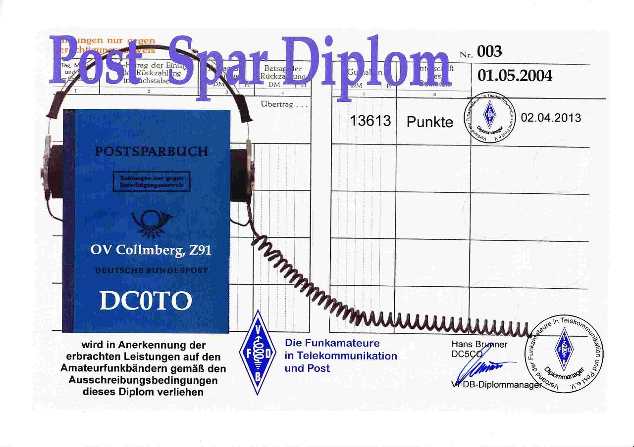 VFDB- Post- Spar Dipl.