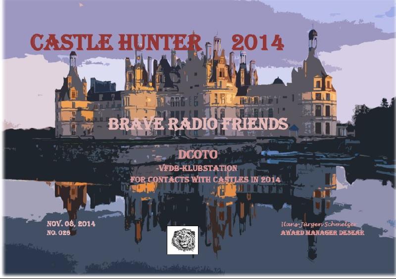 castle hunter 2014