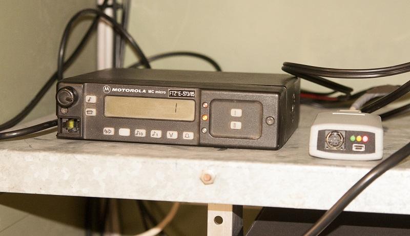 Das Funkgerät mit Digi