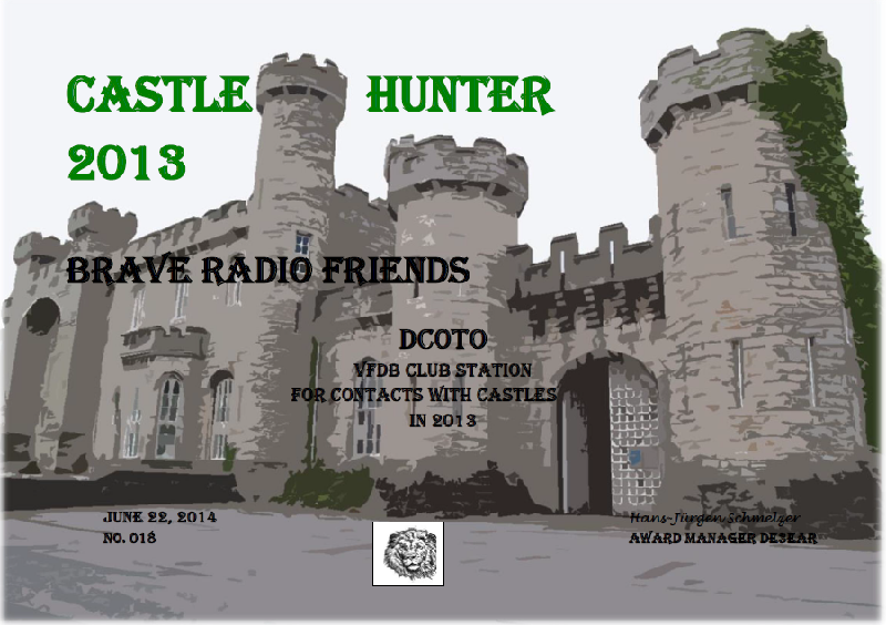 Castle Hunter 2013 DC00TO