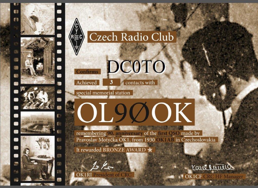 OL90OK Diplom DC0TO