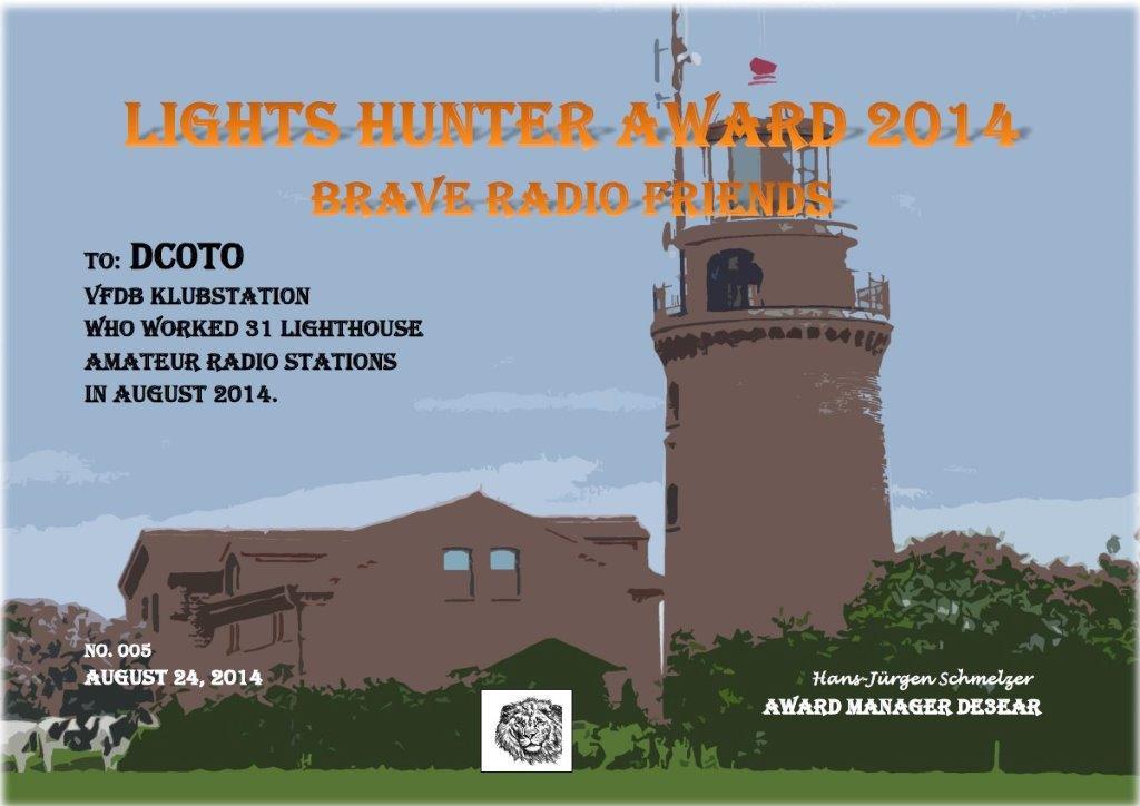 lights hunter 2014 dc0to